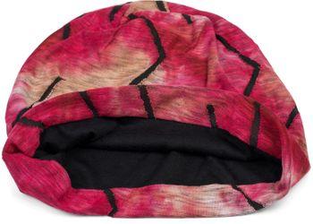 styleBREAKER Unisex Beanie Mütze mit Batik Farbverlauf Muster und Zackenförmigen Rissen im Destroyed Look, Slouch Longbeanie 04024173 – Bild 5