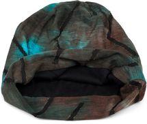 styleBREAKER Unisex Beanie Mütze mit Batik Farbverlauf Muster und Zackenförmigen Rissen im Destroyed Look, Slouch Longbeanie 04024173 – Bild 2
