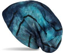 styleBREAKER Unisex Beanie Mütze mit Batik Verlauf Muster und Rissen im Destroyed Look, Slouch Longbeanie 04024173 – Bild 23