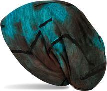 styleBREAKER Unisex Beanie Mütze mit Batik Verlauf Muster und Rissen im Destroyed Look, Slouch Longbeanie 04024173 – Bild 3