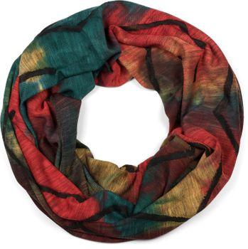 styleBREAKER Unisex Loop Schal mit Batik Verlauf Muster und Rissen im Destroyed Look, Schlauchschal, Tuch 01017126 – Bild 4