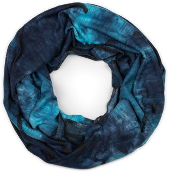 styleBREAKER Unisex Loop Schal mit Batik Verlauf Muster und Rissen im Destroyed Look, Schlauchschal, Tuch 01017126 – Bild 16