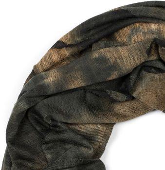 styleBREAKER Unisex Loop Schal mit Batik Verlauf Muster und Rissen im Destroyed Look, Schlauchschal, Tuch 01017126 – Bild 20