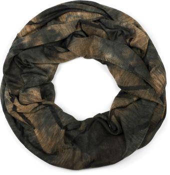 styleBREAKER Unisex Loop Schal mit Batik Verlauf Muster und Rissen im Destroyed Look, Schlauchschal, Tuch 01017126 – Bild 19