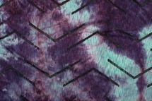 styleBREAKER Unisex Loop Schal mit Batik Verlauf Muster und Rissen im Destroyed Look, Schlauchschal, Tuch 01017126 – Bild 3