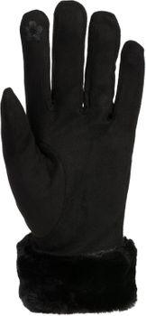 styleBREAKER Damen Unifarbene Touchscreen Stoff Handschuhe mit Fleece Futter und Ziernähten, warme Thermo Fingerhandschuhe, Winter 09010028 – Bild 33