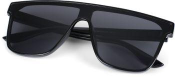 styleBREAKER Unisex Shield Monoglas Sonnenbrille, Polycarbonat Glas und Kunststoff Rahmen, Retro Nerd Style 09020108 – Bild 18