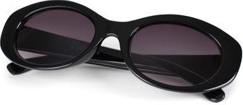 styleBREAKER Damen Butterfly Sonnenbrille mit breitem Kunststoff Rahmen und ovalen Polycarbonat Gläsern, Schmetterling, Retro Style 09020109 – Bild 6