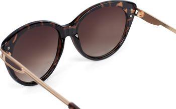 styleBREAKER Damen Sonnenbrille in Katzenaugen Form mit Polycarbonat Gläsern und Metall Bügel, Cat-Eye Brille 09020110 – Bild 5