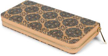 styleBREAKER Damen Geldbörse aus Kork mit buntem Muster Print im Ethno Look, Reißverschluss, Portemonnaie 02040138 – Bild 62