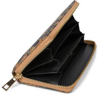 styleBREAKER Damen Geldbörse aus Kork mit buntem Muster Print im Ethno Look, Reißverschluss, Portemonnaie 02040138 – Bild 26