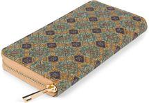 styleBREAKER Damen Geldbörse aus Kork mit buntem Muster Print im Ethno Look, Reißverschluss, Portemonnaie 02040138 – Bild 58