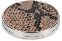 styleBREAKER Damen Magnet Schmuck Brosche rund mit Schlangen Muster Animal Print, für Schals, Tücher, Ponchos, Anhänger 05050089 – Bild 11