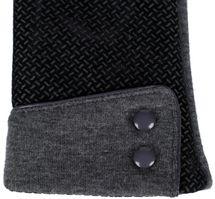 styleBREAKER Damen Touchscreen Handschuhe mit Riffel Muster und Fleece Futter, warme Thermo Fingerhandschuhe, Winter 09010029 – Bild 14