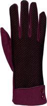 styleBREAKER Damen Touchscreen Handschuhe mit Riffel Muster und Fleece Futter, warme Thermo Fingerhandschuhe, Winter 09010029 – Bild 7