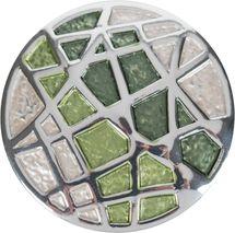 styleBREAKER Damen Magnet Schmuck Brosche rund mit matt schimmerndem Netz Muster für Schals, Tücher, Ponchos, Anhänger 05050091 – Bild 22