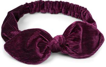 styleBREAKER Damen Cord Haarband mit Schleife und Gummizug, Stirnband, Headband, Retro Style, Haarschmuck 04026048 – Bild 1