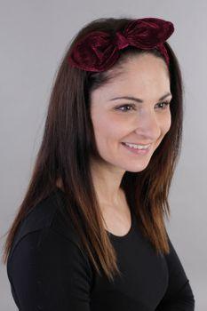 styleBREAKER Damen Cord Haarband mit Schleife und Gummizug, Stirnband, Headband, Retro Style, Haarschmuck 04026048 – Bild 13