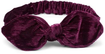 styleBREAKER Damen Cord Haarband mit Schleife und Gummizug, Stirnband, Headband, Retro Style, Haarschmuck 04026048 – Bild 2