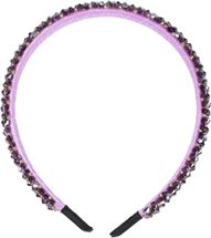 styleBREAKER Damen Haarreif schmal mit Kunststoff Perlen besetzt, Retro Style Haarband, Headband 04027011 – Bild 4