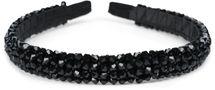 styleBREAKER Damen Haarreif schmal mit Kunststoff Perlen besetzt, Retro Style Haarband, Headband 04027011 – Bild 10