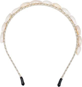 styleBREAKER Damen Haarreif schmal mit Muscheln besetzt, Maritim Haarband, Headband 04027012 – Bild 4