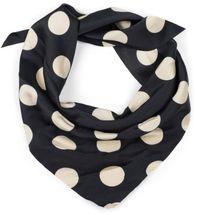 styleBREAKER Damen XL Haargummi Polka Dots Punkte Muster mit Schleife im Retro Style, elastisch, Scrunchie, Zopfgummi, Haarband 04027013 – Bild 4