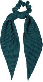 styleBREAKER Damen Haargummi plissiert mit Schleife im Retro Style, elastisch, Scrunchie, Zopfgummi, Haarband 04027014 – Bild 1
