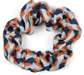 styleBREAKER Damen Haargummi mit Retro Muster und Schleife, elastisch, Scrunchie, Zopfgummi, Dreiecktuch, Haarband 04027015 – Bild 7