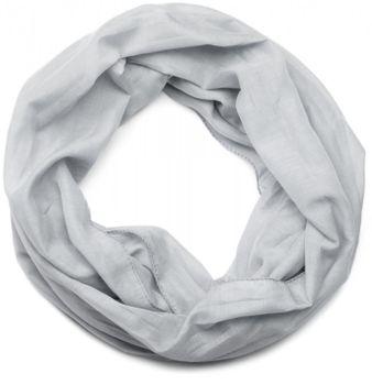styleBREAKER lighter solid color loop tube scarf, silky, Unisex 01016076 – Bild 3