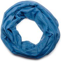styleBREAKER lighter solid color loop tube scarf, silky, Unisex 01016076 – Bild 5