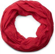 styleBREAKER lighter solid color loop tube scarf, silky, Unisex 01016076 – Bild 1