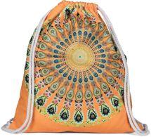 styleBREAKER Damen Turnbeutel mit buntem Mandala Print im Ethno Style, Rucksack, Sportbeutel, Beutel 02012320 – Bild 1