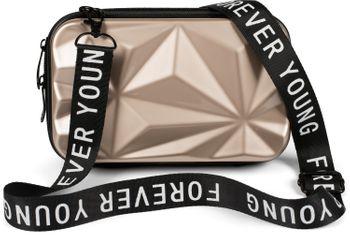 styleBREAKER Damen Multifunktion Umhängetasche 3-D Prisma Oberfläche mit Reißverschluss, Crossbody Bag, Case 02012324 – Bild 1