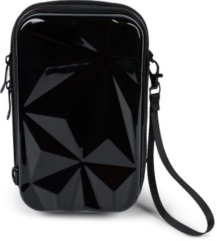styleBREAKER Damen Multifunktion Umhängetasche 3-D Prisma Oberfläche mit Reißverschluss, Crossbody Bag, Case 02012324 – Bild 14