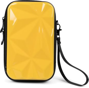 styleBREAKER Damen Multifunktion Umhängetasche 3-D Prisma Oberfläche mit Reißverschluss, Crossbody Bag, Case 02012324 – Bild 8