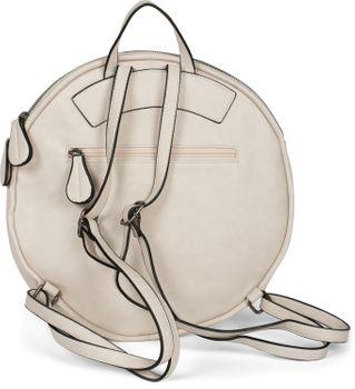 styleBREAKER Damen Rucksack Handtasche Rund mit Oberfläche im Prisma Look mit Reißverschluss, Tasche 02012325 – Bild 27