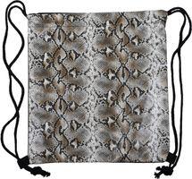 styleBREAKER Damen Turnbeutel mit Oberfläche in Python Schlange Optik, Rucksack, Sportbeutel, Beutel 02012336 – Bild 8