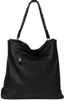 styleBREAKER Damen Hobo Bag Handtasche mit Ketten Applikation, Shopper, Schultertasche, Tasche 02012339 – Bild 25
