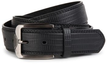 styleBREAKER embossed snake leather look belt with genuine leather, shortened 03010037 – Bild 3