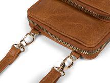 styleBREAKER Damen Mini Bag Umhängetasche mit 2 Reißverschlüssen, Handytasche, Geldbörse, Schultertasche, Handtasche 02012349 – Bild 7