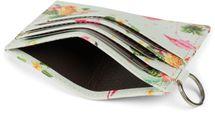 styleBREAKER Damen Kartenetui mit buntem Flamingo Tropic Muster, Portemonnaie, kompaktes Kreditkarten Etui 02040139 – Bild 7