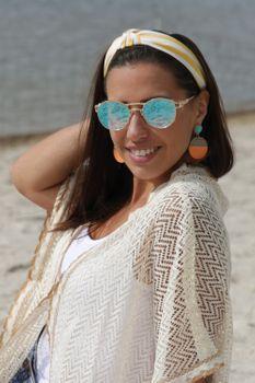 styleBREAKER Damen Haarreif mit Streifen Muster und Knoten im Retro Style, Vintage Look, Haarband, Headband 04027016 – Bild 13