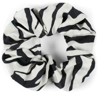 styleBREAKER Damen XXL Haargummi mit Zebra Muster im Animal Print Style, elastisch, Scrunchie, Zopfgummi, Haarband 04027018 – Bild 3