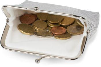 styleBREAKER Damen Münz Geldbörse in strukturierter Krokoleder Optik, Knipsverschluss, Münzbörse, Portemonnaie 02040140 – Bild 15