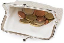 styleBREAKER Damen Münz Geldbörse in strukturierter Krokoleder Optik, Knipsverschluss, Münzbörse, Portemonnaie 02040140 – Bild 20