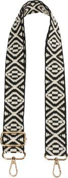 styleBREAKER Taschen Schulterriemen mit Azteken Muster, Wechsel Taschengurt mit Karabinerhaken, verstellbar, Unisex 02013015 – Bild 1