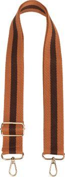 styleBREAKER Taschen Schulterriemen gestreift, Wechsel Taschengurt mit Karabinerhaken, verstellbar, Unisex 02013016 – Bild 4
