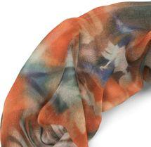 styleBREAKER Damen Leichter Loop Schal mit Aquarell Batik Blüten Muster, Schlauchschal, Tuch 01016200 – Bild 17