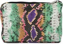 styleBREAKER Damen Beautybag in bunter Schlangen Optik, Kosmetiktasche, Make Up Bag, Taschen Organizer 02013017 – Bild 1